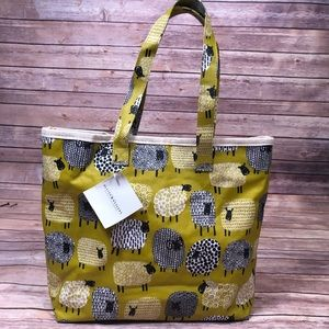 Ulster Weavers Dotty Sheep Oilcloth Bag